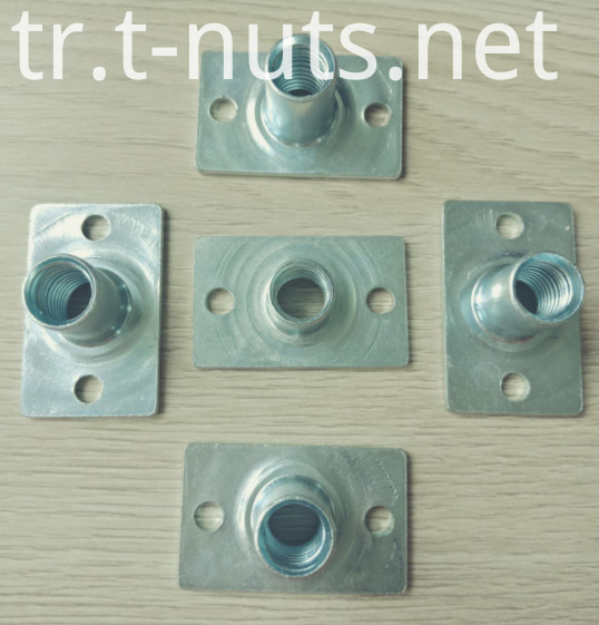 T-nuts M10x18 With two holes