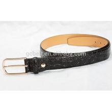 Мужской мужской 3cm черный цвет модный пояс талии PU