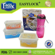 L China resealable custom plastic container