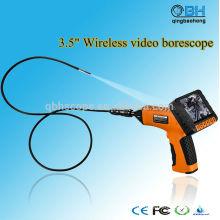 Câmera impermeável da inspeção de endoscópio do endoscópio da tela de 3,5 polegadas