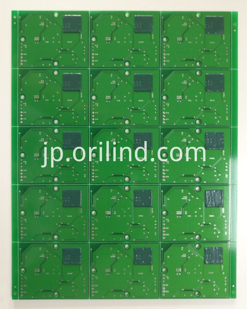 HASL circuit board with peelable mask