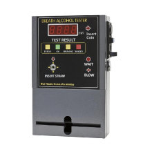 Purchasing Agent Coin Operated Alcohol Tester With Digital Lcd Display
