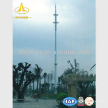 Tour d'acier de télécommunication