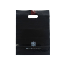 Black PO Flat Bottom Packaging Bags