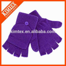 Wholesale acrylic knit custom magic kids gloves