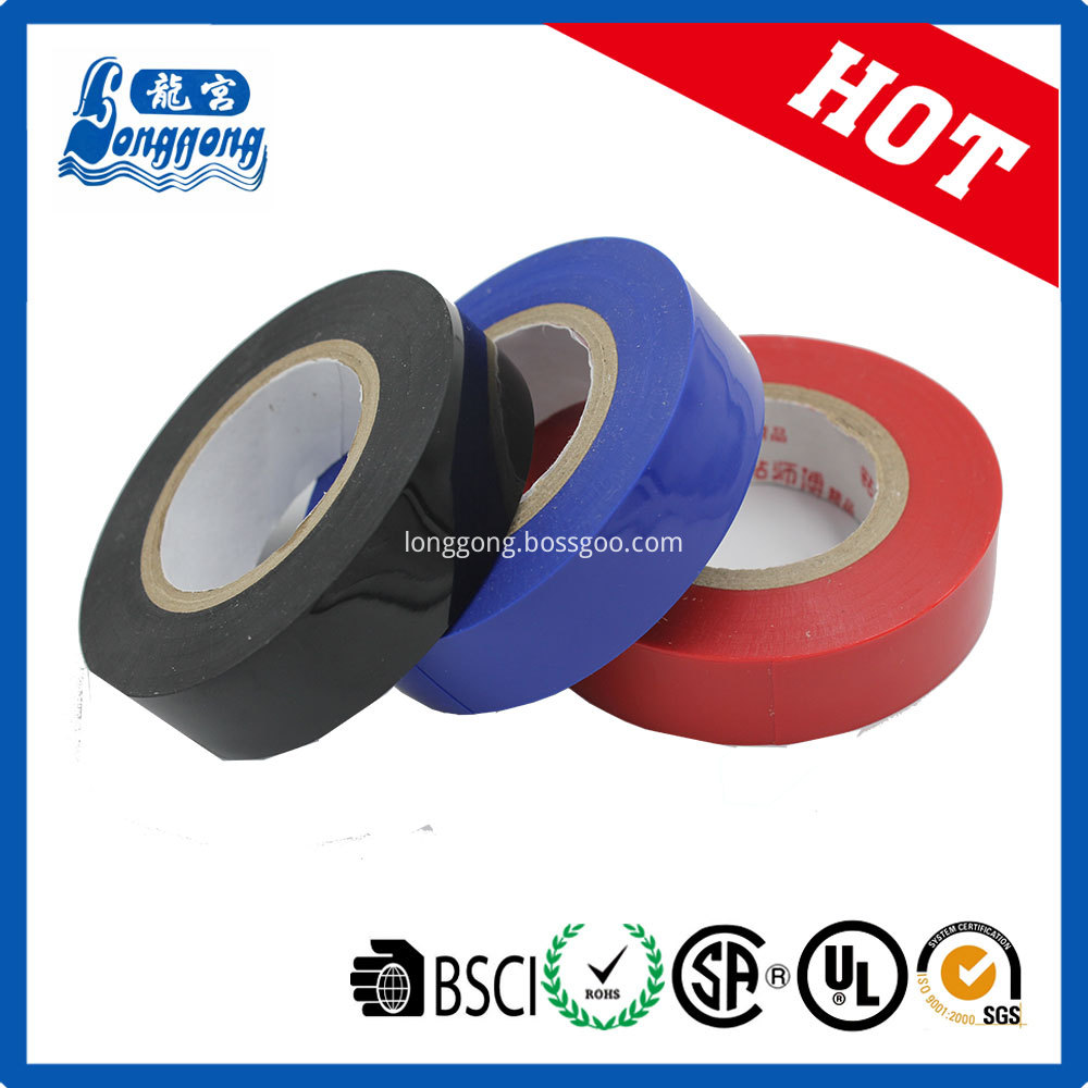 Best quality Shiny PVC Electrical Insulation Tape