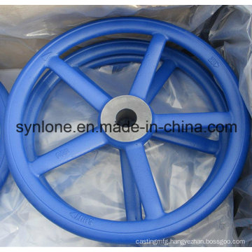 China OEM Sand Casting Steel Hand Wheel