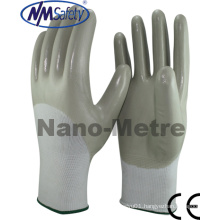 Nmsafety 3/4 Coated Smooth Nitirle Oil-Proof Safety Glove
