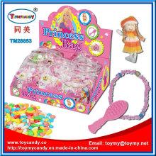 Kunststoff Prinzessin Tasche Mädchen Spielzeug mit Cnady