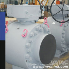 Gear Opearated Forged Steel Butt Welded Full Welded Ball Valve