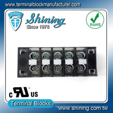 TB-33505CP Surface Mounted 35A 5 Pin Fixed Barrier Terminal Connector
