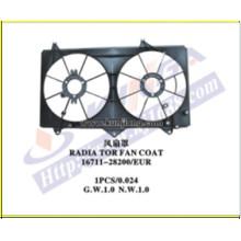 Cooling Radiator Fan Coat for Camry′2002 Acv30 (111701-ACV30-F)