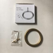 China for Multifunctional Cattle Nose Ring 7cm pure copper cattle nose ring export to Finland Factories
