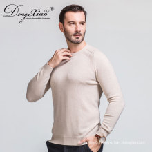 Hot Selling Oem Service Business Style Flat Kinitted Pullover 100% cashmere Sweater For Men