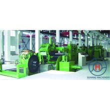 Linha automática de aço galvanizada velocidade 0-70m / máquinas de corte mínimas da bobina da folha