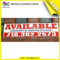 Confiable proveedor de China de PVC de impresión de publicidad al aire libre bandera bandera de viento y al aire libre banderas de vuelo fabricante