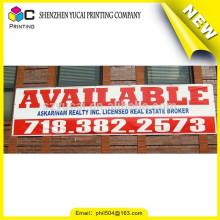 Conception à la mode Impression en PVC bannière extérieure publicitaire signes personnalisés et bannière publicitaire promotionnelle