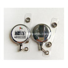 32 mm plast Retractable Id Badge Holder