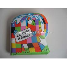 Livro de tecido plástico impermeável lavável bebê