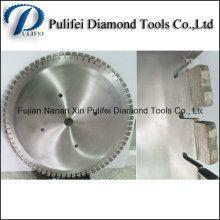 La sierra circular del diamante equipa la hoja de sierra circular de 900m m 36 '' para el corte de la pared del tejado del piso