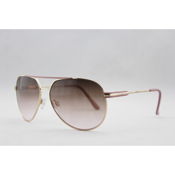 Hot Fashion Metal Women Sunglasses with BSCI Audit (14126)