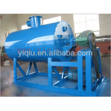 Gas or steam or oil vacuum rake dryer