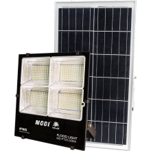 solar powered  security light and motion detector