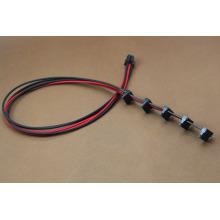 ATX 6 pinos para 5SATA Power Cable Harness Assembly
