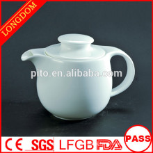 2015 new design unique porcelain teapot coffee pot