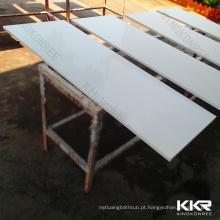 Mesa de pedra de resina de superfície sólida personalizada, bancada