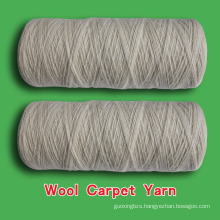 Quality assured hot-sale wool blended carpet yarn