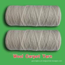 Fio de tapete de lã, fio de lã no cone