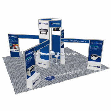Oferta de Detian 20x20ft Fabricación abierta de puestos de exhibición en stands comerciales