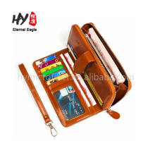 Multi-function handmade card holder leather wallets