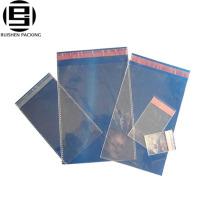 Effacer les sacs en plastique auto-adhésifs bopp