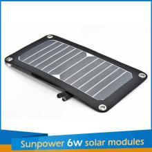 2016 Sunpower Portable Solar 6W Charger Panel Kit