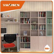 Großes haltbares modernes Bücherregal aus Holz