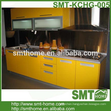 2015 high gloss UV modular customized kitchen cabinet