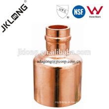 J9302 Conexão em cobre, Acoplamento em anel de solda para tubos de cobre, encanamento