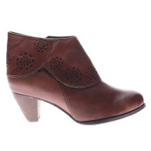 Vintage Inspired Style High Quality Leather Ankle Boots
