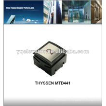 Bouton d'appel d'ascenseur THYSSEN MTD441