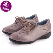 Stiefmütterchen Komfort Schnalle Design Lady Freizeit Schuhe