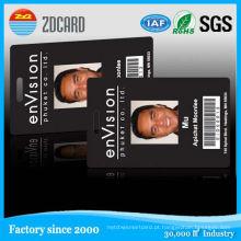 Criador de cartão de identificação de foto de estudante de escola com código de barras ou código Qr