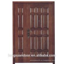 Puerta de entrada principal, puerta ignífuga de seguridad, puerta de entrada de fuego