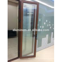 wood-aluminum casement door
