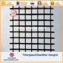 Asphalt Bitumen SBR Coated Biaxial Glassfiber Geogrid