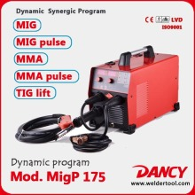 Synergic pulse mig welder 175amps