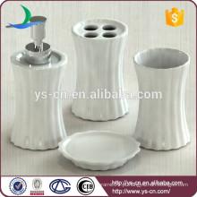 Novo banheiro conjunto cerâmica, branco porcelana vertical stripe banho acessório