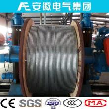 Raven / Aw, ACSR / AW, Conductor de aluminio Acero recubierto de aluminio Soportado