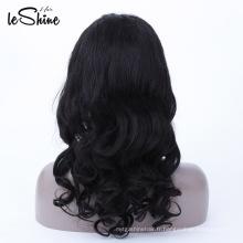 Cuticules vierges alignées 100% perruque de cheveux vierges en gros